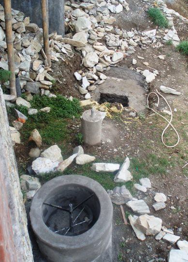 Doves farm and lower area for Septic tank fumes in house
